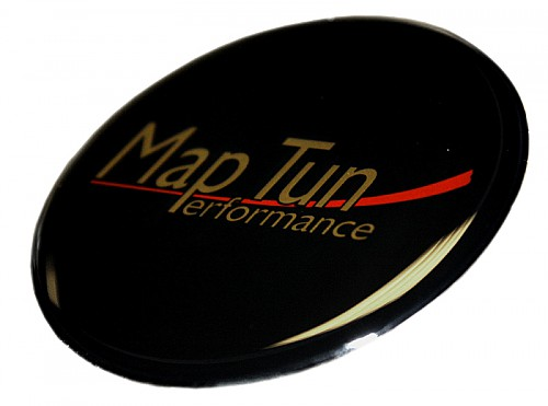 MapTun hood/trunk Emblem, Black Item number: DSBS360