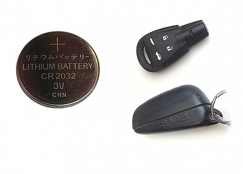 Key Fob/Transmitter battery, CR2032 Tuotenumero: 1090541381