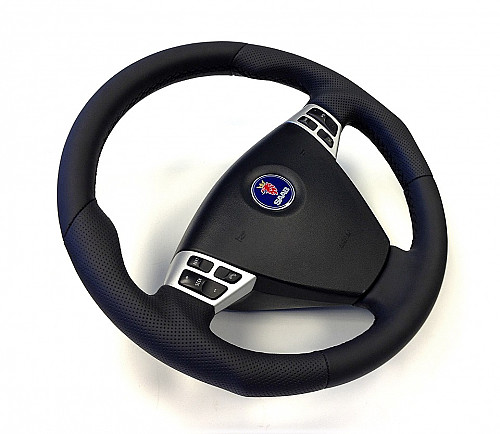 Maptun Steering Wheel Leather Saab 9-5 06-10 Item number: 01-50303