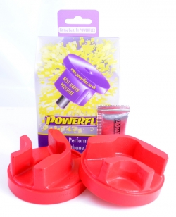 Engine mount bushing, lower front (red) Item number: PFF801220R
