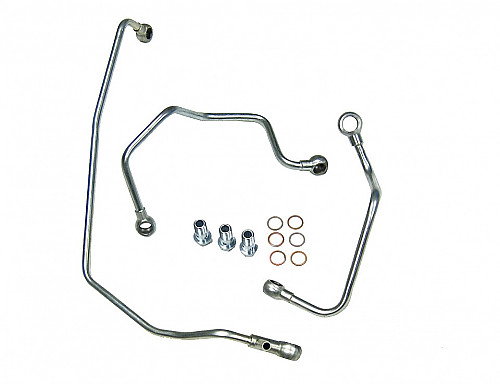 Water & oil lines TD04 T7, Saab 9-3 I 98-02, 9-5 98-10 Item number: 01-10500