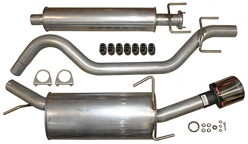 Ferrita stainless steel exhaust
