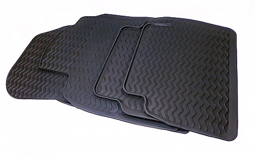 Rubber floor mats, Saab 9-3 II LHD 03-07 Item number: 4032026121