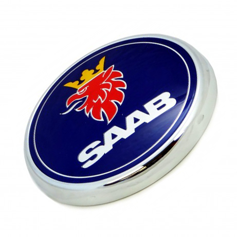 Emblem rear, Saab 9-5 4D 06-10 Item number: 1012844159