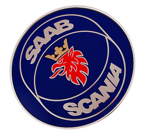 Emblem rear, Saab 9-5 4D 98-00 Item number: 104833638