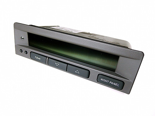 SID1 display unit, Saab 9-5 02 only Item number: 1012806121