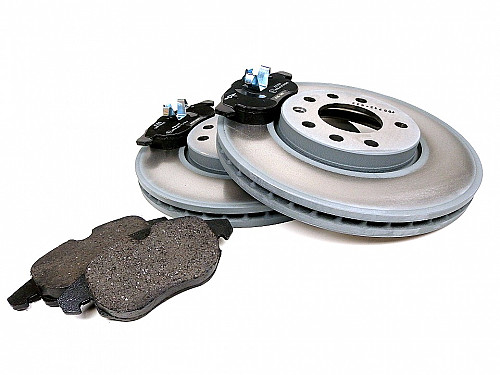 Front Brake Disc & Pads Kit, Saab 9-3 II (285mm) Item number: 96-BKIT7