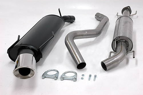 Maptun Complete Exhaust 9-5 2006-2010, Aero 2004-2005 Item number: 04-14015H