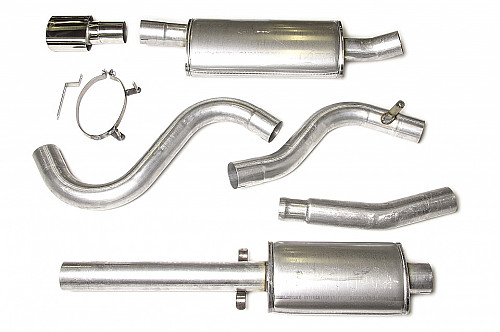 "JT 3"" cat-back, Saab 900/9-3 with 2 silencers Item number: 11-JT62-H2"