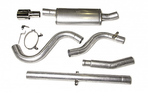 "JT 3"" cat-back, Saab 900/9-3 with 1 silencer Item number: 11-JT62-H1"