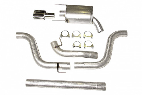 "JT 3"" Cat Back System Saab 9-3 II -61L One silencer3 Item number: 11-JT93-HA62-1"