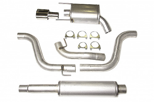 "JT 3"" Cat-back system Saab 9-3 II -61L two silencers Item number: 11-JT93-HA62-2"