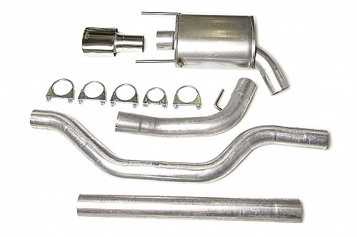 "JT 3"" Cat-back system Saab 9-3 II -58L one silencer Item number: 11-JT93-HA58-1"