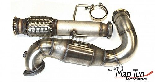 MapTun downpipe, Saab 9-3 II 2,0 XWD with eu-catalyst Item number: 19-309006-E-1