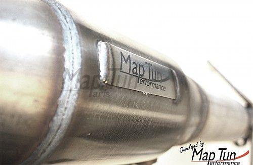 MapTun downpipe, Saab 9-5 (B205,B235) 98-10 EU-catalyst Item number: 19-309004E