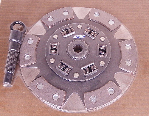 SPEC Stage 2+ clutch disk Saab 9000 1990-1993 2.3T Item number: SSD113H