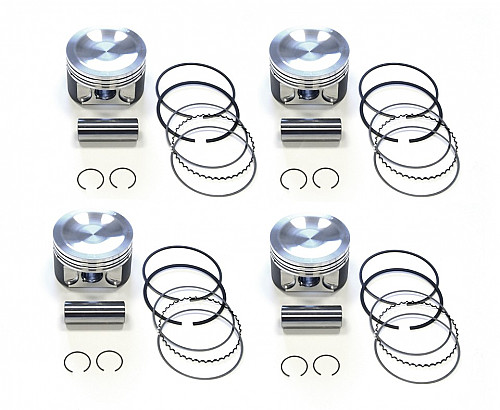 Forge pistons 900/9000 B234i, STD Item number: 01-17004