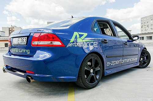 A-Z Performance RACE bodykit Saab 9-3 II Sedan Item number: AZPRBKITRF9-31