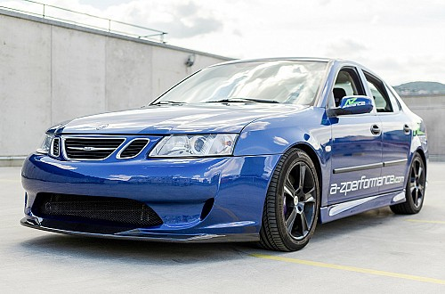 A-Z Performance RACE front bumper Saab 9-3 II Item number: AZPRFB9-31