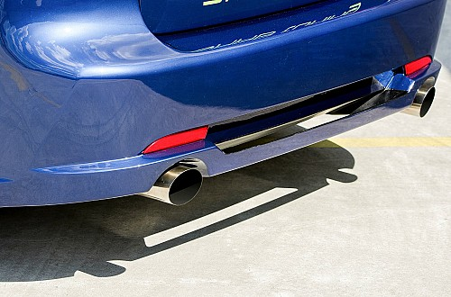 A-Z Performance rear bumper Saab 9-3 II Sedan Item number: AZPRB9-31