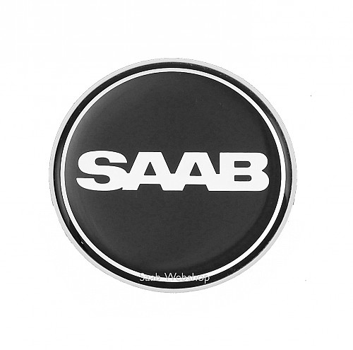 Emblem bonnet black, Saab 9-3 II /9-5 -12 Item number: 102100003