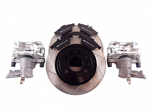 Brake upgrade kit, incl brake calipers, Saab 9-3 2003- Item number: 99-30201