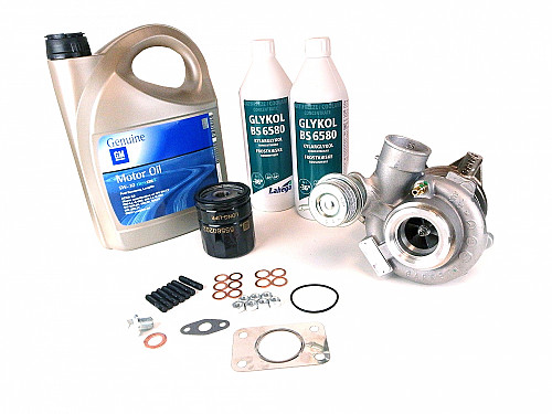 Turbo GT17 Genuine, complete kit (Blue glycol) Item number: 96-560913BK-OE