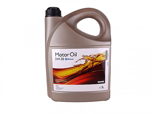 Fully Synthetic Motor Oil, Saab/GM 5W/30 5L Item number: 101942042