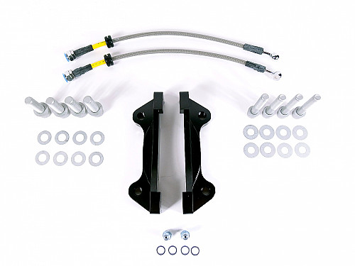 MapTun XT-Series bremse kit 330mm, Saab 9-3 II 2003- Item number: XT-BBK33093