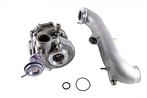 "Turbo Charger TD04HL-15T + Inlet pipe ""cobra"", Saab 9-5/9-3 Item number: 01-99110"
