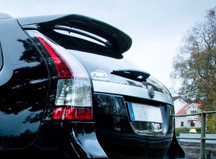 XT-Series Rear Spoiler, Saab 9-3 SportCombi Item number: XT-EXT001