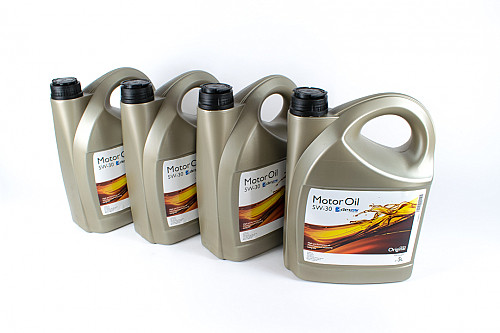 Fully Synthetic Motor Oil, Saab/GM 5W/30 4x5L Item number: 101942042-4