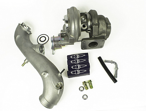 Turbo Upgrade GT17 to TD04 -04, Saab 9-5 & 9-3 OG Item number: 01-99140