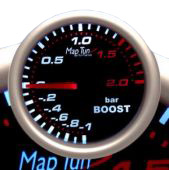 Maptun Boost gauge 52mm, up to 2.0Bar Item number: MT22B