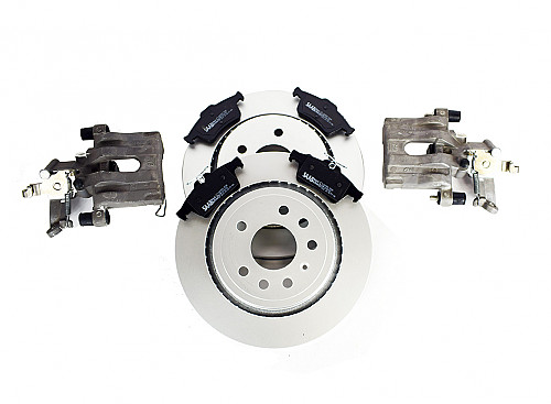 Brake upgrade kit, incl brake calipers, Genuine Saab Saab 9-3 2003- Item number: 99-292MMORG