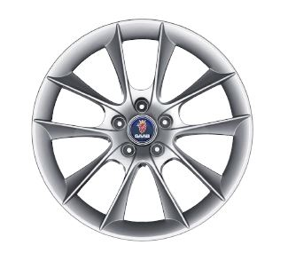 "Saab wheels 18x7.5"" Item number: ALU 65"
