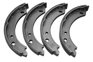 Rear Brake Shoes, Saab 95/96/Sonett Item number: 108817157-EM