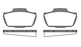 Bremsbeläge alternativ, Saab 95/96 / Sonett V4 Artikel-Nr.: 025-8817140