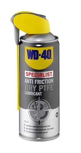 WD-40 Dry PTFE Lubricant 400ml Item number: 610-776