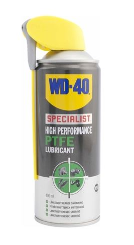 WD-40 PTFE Lubricant 400ml Item number: 610-764