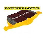 Bromsbelägg fram, EBC Yellowstuff, Saab 9-5 II 337mm skiva
