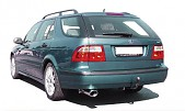 Maptun cat-back, Saab 9-5 I 1998-2005, models with hidden tailpipe