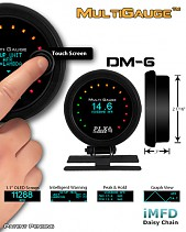 DM-6 Touch Screen Multi Gauge