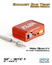 PLX kipufogógáz hőmérséklet jeladó és érzékelő