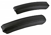 XT-Series interior door handle kit, Black stitches, Saab 9-3 2003-
