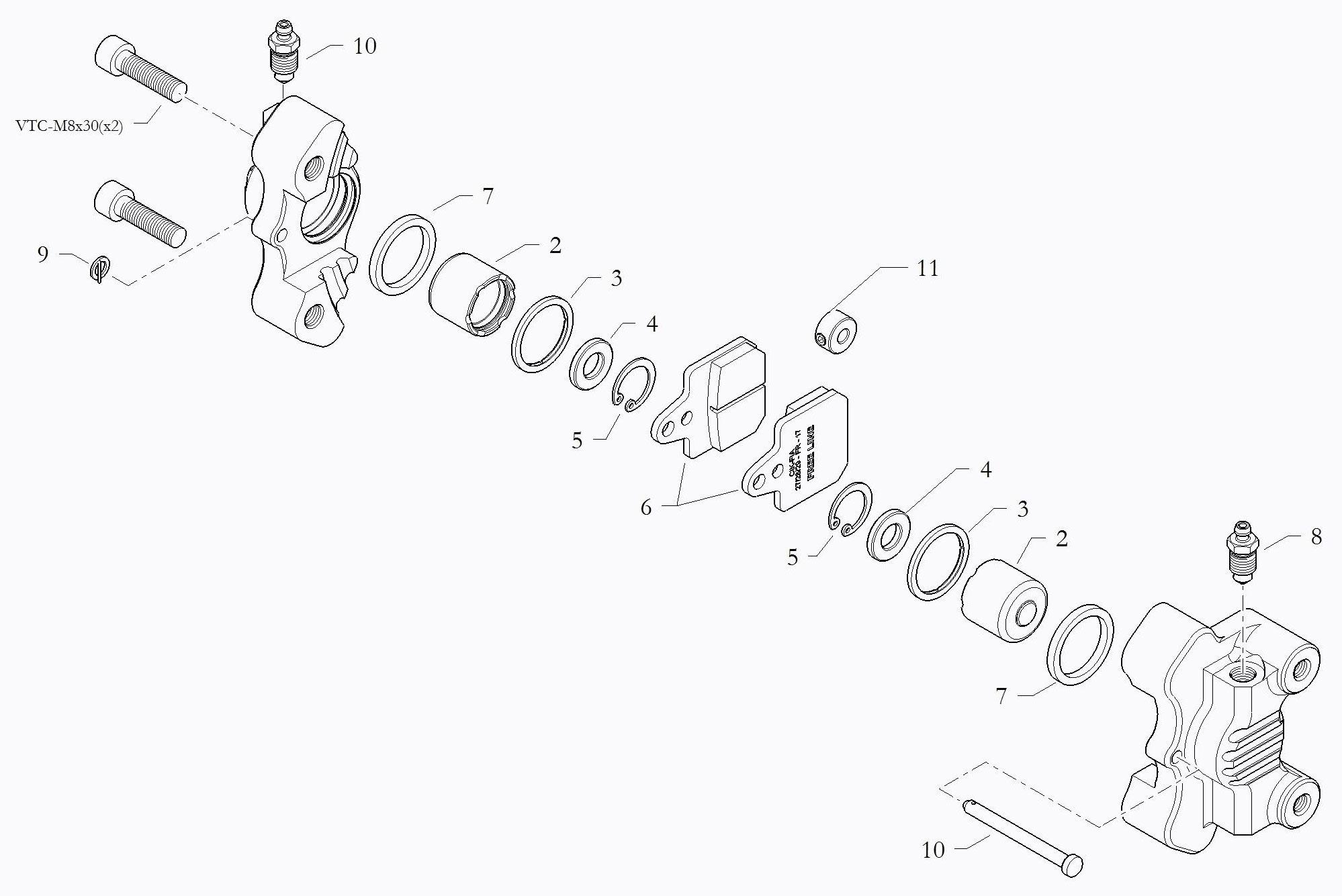 Brake Parts BIR082RH5