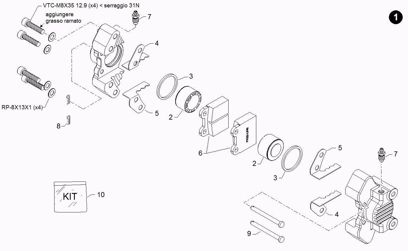 Brake Parts BIR082RI38