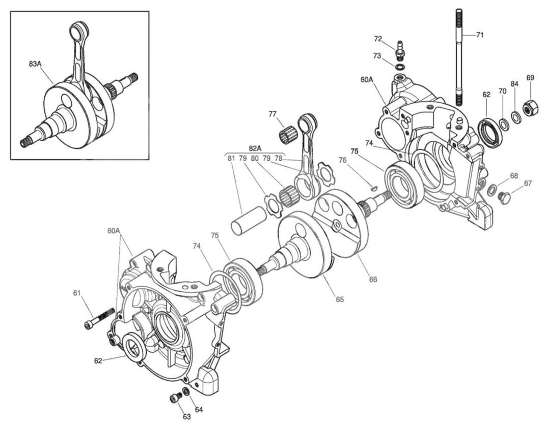 Crankcase & Crankshaft