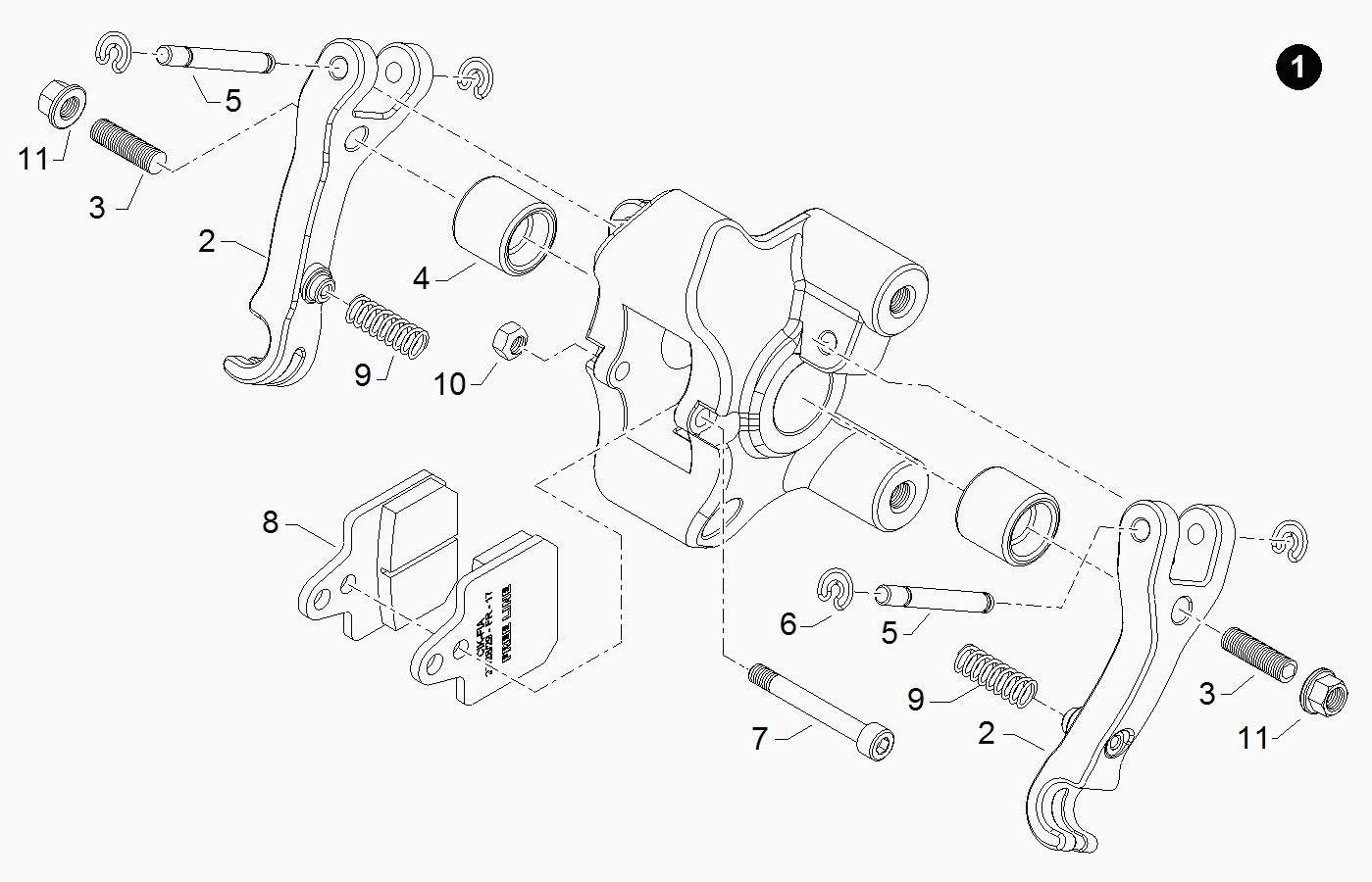 Brake Parts BIR081A