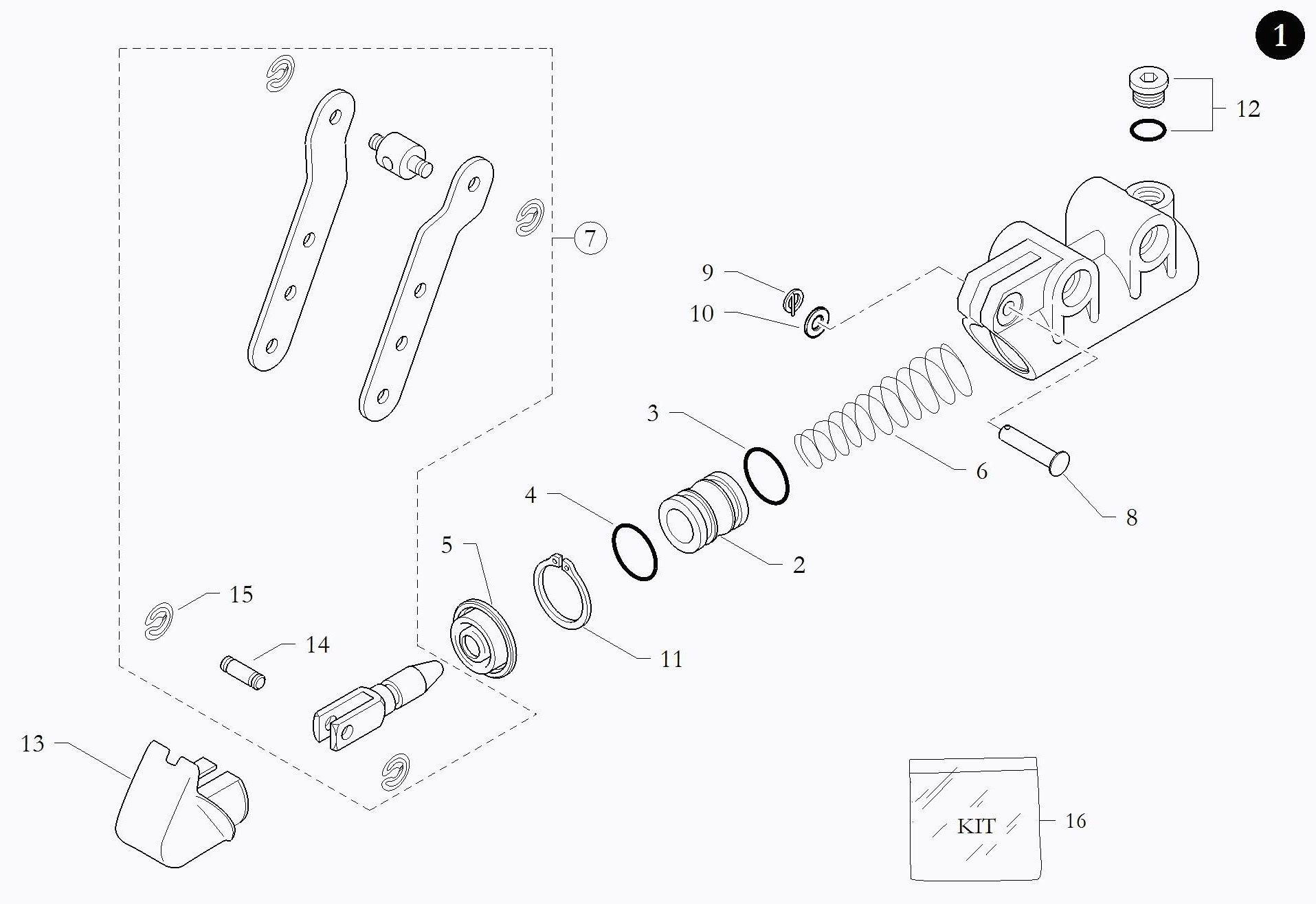 Brake Parts BIR086